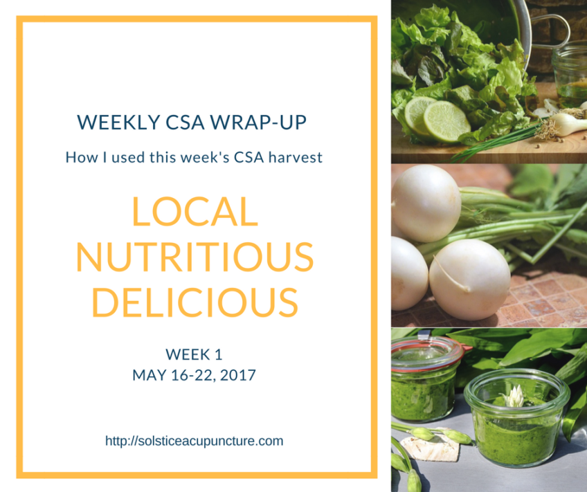 CSA Week One: May 16-23, 2017